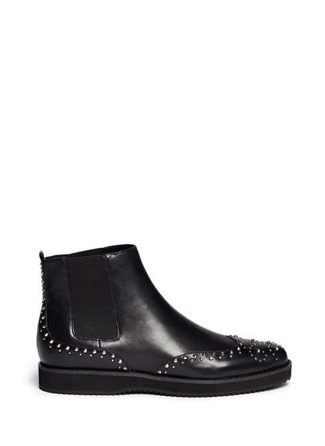 michael kors boots on sale michael michael kors sofie rivet wingtip leather