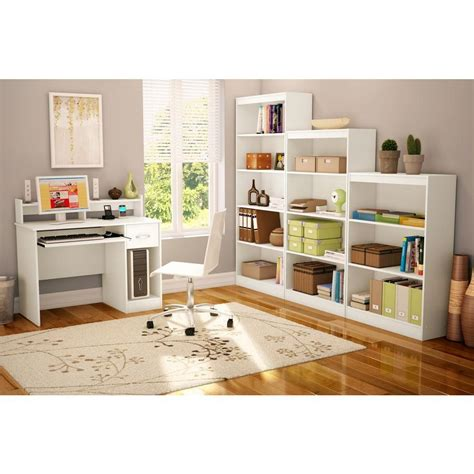 south shore desk with hutch south shore axess white desk with hutch 7250076c