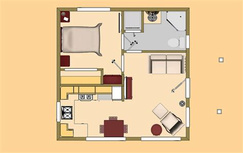 cozyhomeplans 400 sq ft small house floor plan concept flickr
