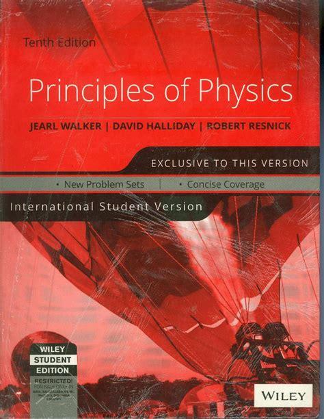 Principles Of Physics 10 Ed principles of physics 10 edition buy principles of