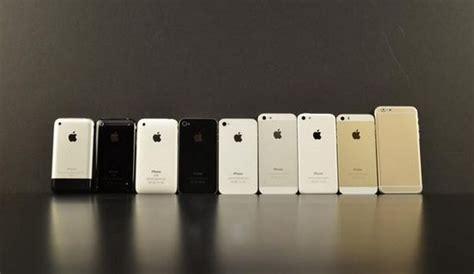 tous les iphone reunis avec liphone  pour comparaison video