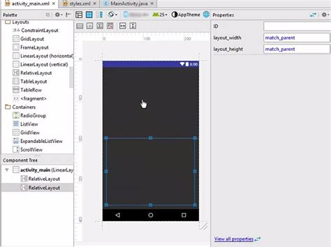 multiple linear layout in android split screen using multiple layout in android stechies