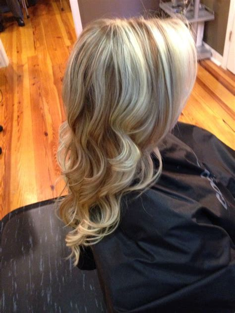 long blonde hair with dark low lights blonde hair color with highlights and lowlightsblonde