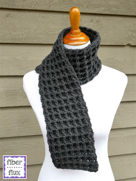 jennifer s scarf free crochet pattern from red heart yarns 329 best images about patterns for men and boys on