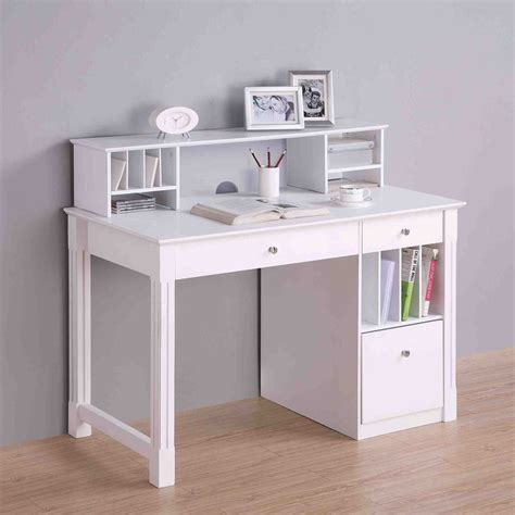 white computer desk with hutch sale best 25 white desks