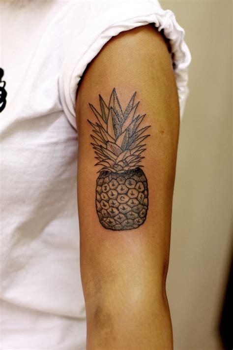 pineapple tattoo pinterest pineapple tattoo tattoos are forever pinterest