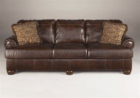 Leather Sofa Warehouse Axiom Walnut Leather Sofa Set Evansville Overstock Warehouse