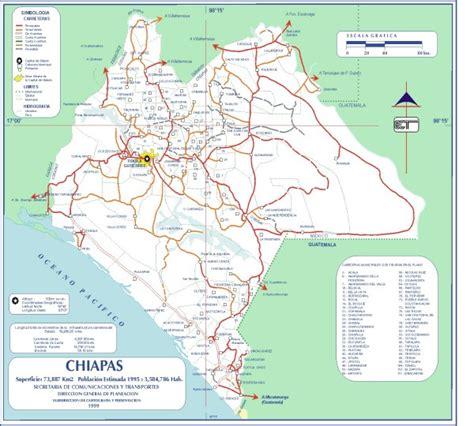 map of mexico chiapas chiapas road map totolapa mexico mappery