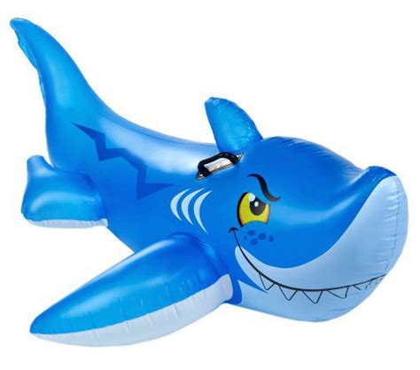 Intex Friendly Shark Ride On Opsional friendly shark ride on pool float