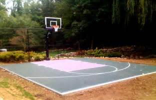 backyard basketball court ideas large and beautiful