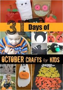 31 days of october crafts for kids favething com