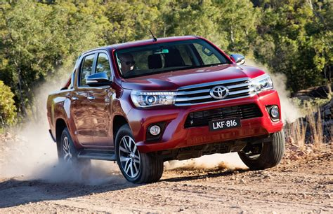 New Toyota Hillux Australian Vehicle Sales For October 2015 New Hilux