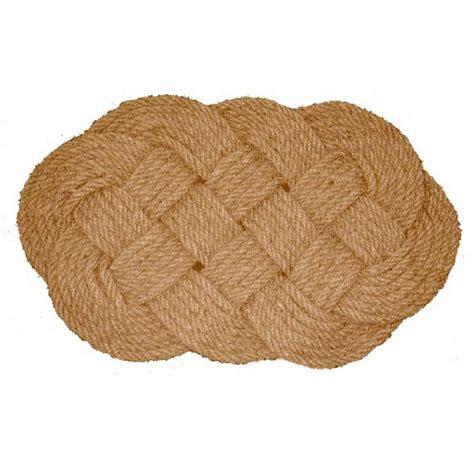 Coir Doormat by Nature By Geo Beige 20 In X 30 In Coir Doormat Woven
