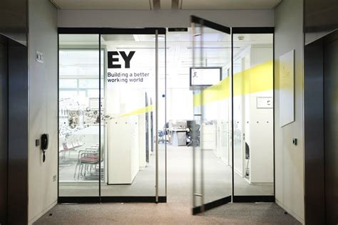 Ey Office brand new new logo and name for ernst by brandpie