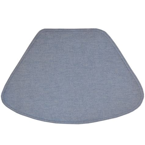 wedge placemats blue denim wedge shaped round table placemat at sweetpealinens com by sweet