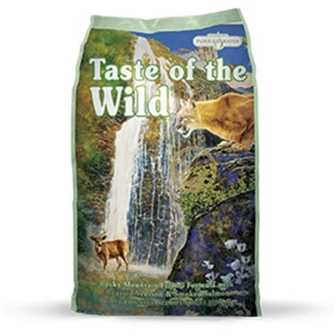 taste of the salmon food taste of the rocky mountain formula with roasted venison smoked salmon cat