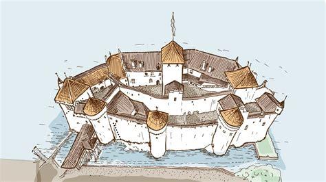 Map Floor Plan by Schlossplan Schloss Chillon