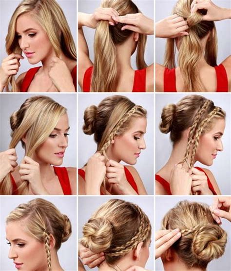 step by step womens hair cuts 10 easy and simple hairstyles for girls step by step you