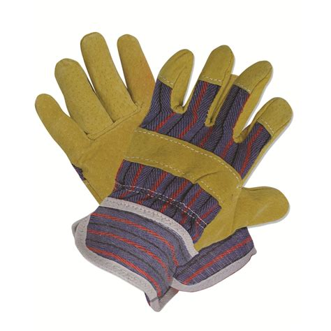 Garden Gloves by Garden Gloves Dig It Large Synthetic Leather Utility