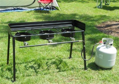 Kompor Gas Portable Backpacking Cing Stove king kooker cs42 portable propane 54 000 btu burner outdoor c stove farm garden