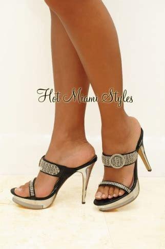 backless high heel shoes black rhinestone o ring backless high heel shoes