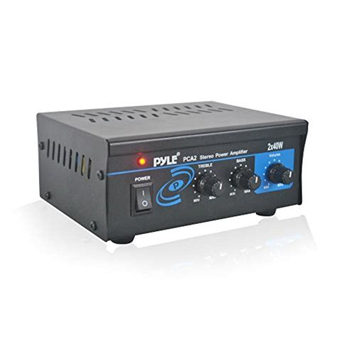 Power Lifier Malaysia pyle home pca2 2x40 watt stereo mini power lifier 11street malaysia other electrical