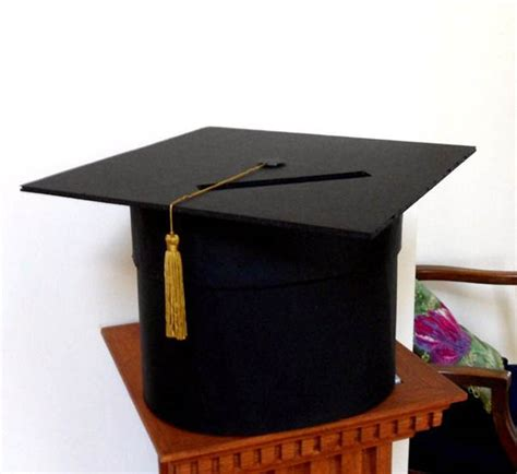 how to make graduation card box diy graduation caps b lovely events