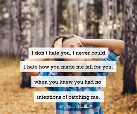 i could never hate you quotes i could never hate you quotes i don t hate you i never
