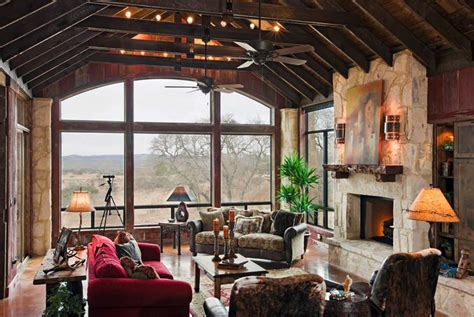 texas ranch style decorating ideas texas ranch style log rustic ranch house designed for family gatherings in texas