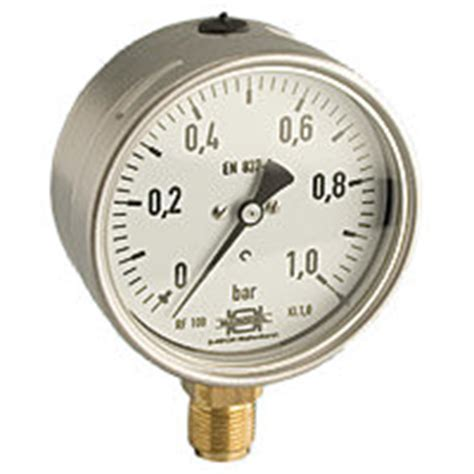 Manometer 4kg 1 4 druckmanometer glyzeringef 252 llt in verschiedenen ausf 252 hrungen