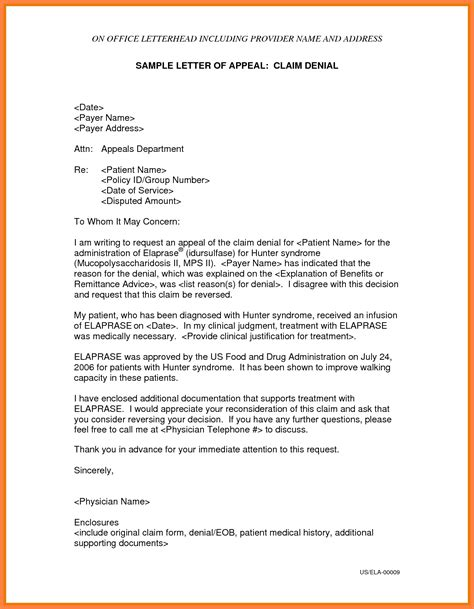 Work Appeal Letter Template free unemployment appeal letter template the letter sle