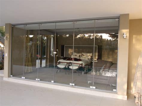 Frameless Glass Sliding Doors Folding Sliding Glass Doors Frameless Nearly Frameless Sliding Folding Doors To Garden