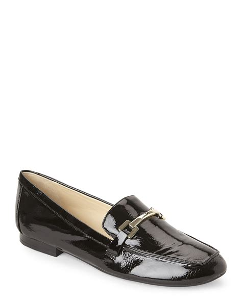 nine west loafer lyst nine west black last call loafers in black