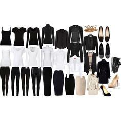 All Black Wardrobe by A Summer Capsule Wardrobe For The Stay At Home