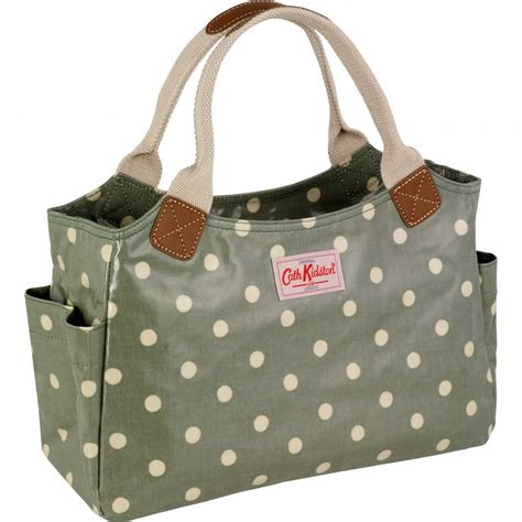 day bags cath kidston green spot day bag nicholls
