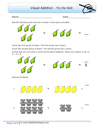 easy addition worksheets addition worksheet sle