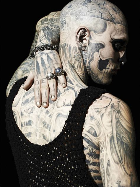 extreme tattoo montreal rick genest 171 arrested motion