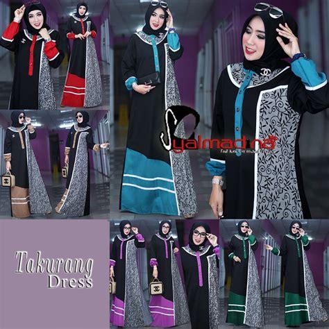 Gamis Ima Dress model baju muslim gamis batik terbaru takurang syalmadina