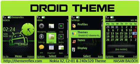 cute themes for nokia x2 02 nokia x2 02 theme droid theme themereflex