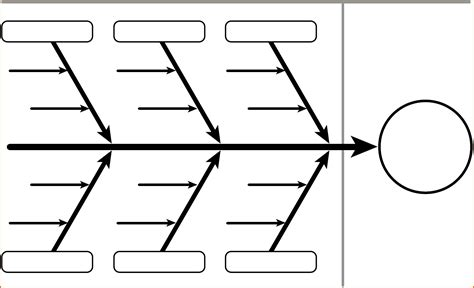 blank diagram template 3 blank fishbone diagram authorizationletters org