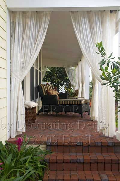 Outdoor Sheer Curtains For Patio by 17 Best Ideas About Outdoor Curtains On Patio