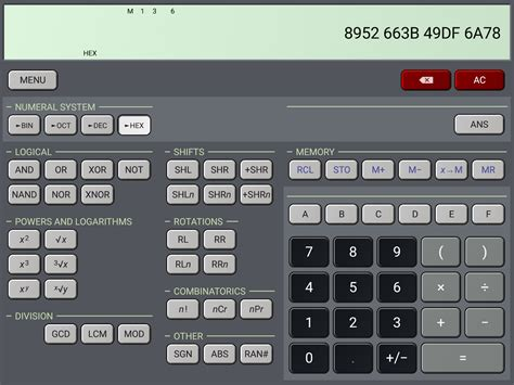 calculator video hiper scientific calculator 187 apk thing android apps