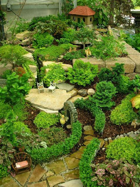Garden Thyme With The Creative Gardener Creative Fairy Gnome Garden Ideas