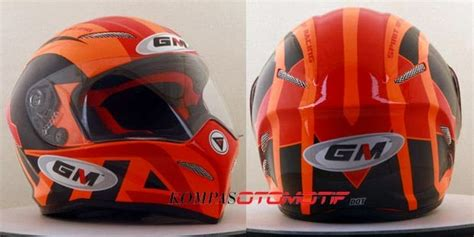 Helm Gm Buat Drag Bike Helm Gm Terbaru Drag Bike Series Penghuni Dumay