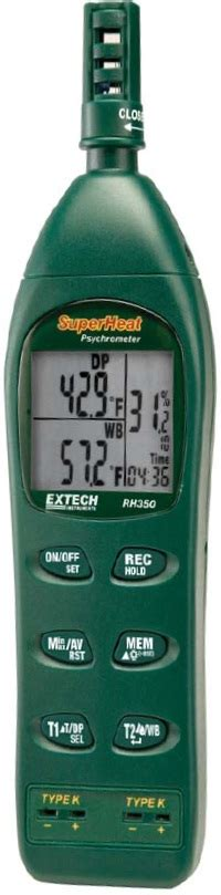 Jual Extech Rh490 Precision Hygro Thermometer extech environment scientific test instruments