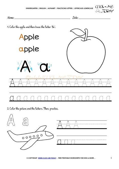 Worksheets For by Alphabet Tracing Worksheets How To Write Letter A