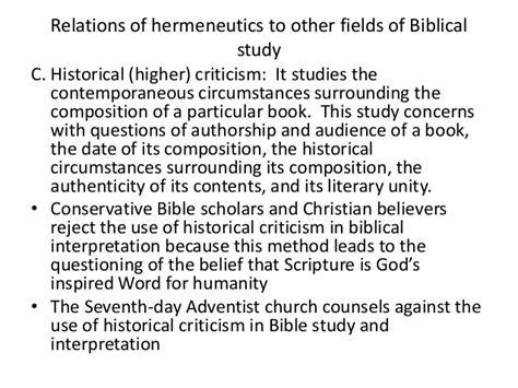 priority in biblical hermeneutics and theological method books hermeneutics