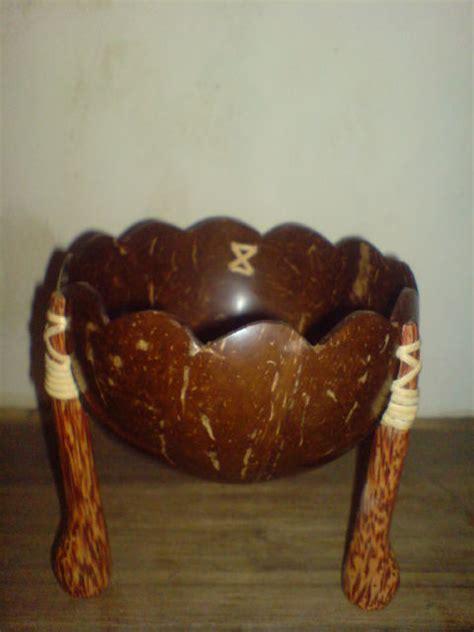 ndalemkita mangkok batok tempurung kelapa klasik unik