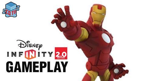 disney infinity iron man gameplay avengers youtube
