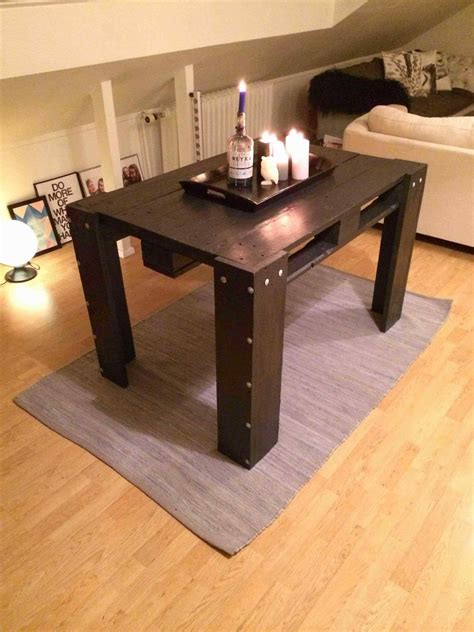 Coffee Table To Dining Table Diy Kitchen Tables Made From Pallets Bierwerx